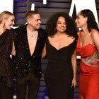 Ashlee Simpson, Evan Ross, Diana Ross and Tracee Ellis Ross