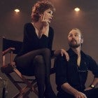 Michelle Williams and Sam Rockwell as Gwen Verdon and Bob Fosse