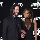 "Keanu Reeves and Halle Berry at the ""John Wick: Chapter 3"" world premiere"
