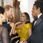 'Lion King' Cast React to Meghan Markle and Prince Harry at Premiere