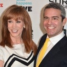 Kathy Griffin and Andy Cohen