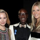 Kristen Bell, Don Cheadle and Gwyneth Paltrow