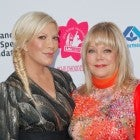 Tori Spelling and mom Candy Spelling