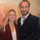 James Middleton and Alizee Thevenet at a London movie premiere on Oct. 17.