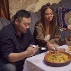 David Chang and Chrissy Teigen in 'Breakfast, Lunch & Dinner' Trailer
