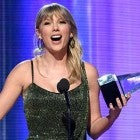 Taylor Swift wins an AMA