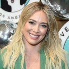 hilary duff at dog event