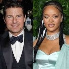 Tom Cruise, Rihanna, and Julia Roberts at the British Fashion Awards