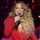 "Mariah Carey performs onstage during her ""All I Want For Christmas Is You"" tour"