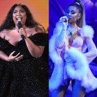 Lizzo, Tyler the Creator and Ariana Grande at the 2020 GRAMMYs