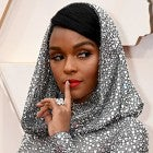 Oscars 2020: Janelle Monae Sparkles in See-Through Ralph Lauren Gown