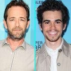 Luke Perry and Cameron Boyce