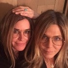 Jennifer Aniston and Courteney Cox Go From 'Friends' to Twins on Jen's 51st Birthday