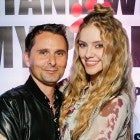 Matt Bellamy and Elle Evans in november 2019