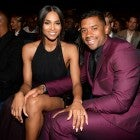 Ciara and Russell Wilson at The 2015 ESPYS