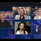 Andy Cohen and guests on 'WWHL'