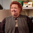 Conchata Ferrell (Berta) on the finale episode of TWO AND A HALF MEN in 2012