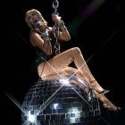 VMAS 2020: Miley Cyrus Ditches Her Wrecking Ball for a Disco Ball During 'Midnight Sky' Performance