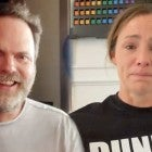 Rainn Wilson on Jennifer Garner's Tearful Reaction to Watching 'The Office' Finale (Exclusive)