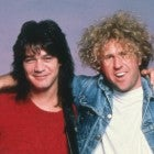 Eddie Van Halen and  Sammy Hagar