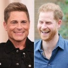 Rob Lowe and Prince Harry