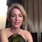 Gillian Anderson Globes Intv