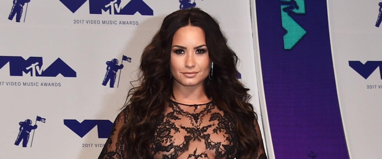 Demi Lovato at VMAs 2017