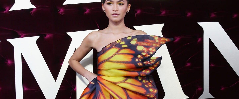 Zendaya butterfly dress