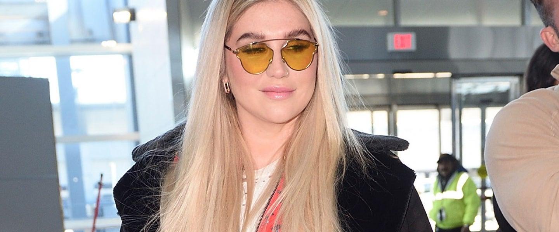 Kesha at JFK