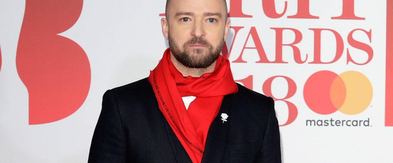 Justin Timberlake at 2018 BRIT Awards