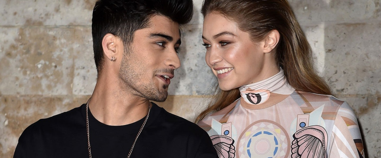 Zayn Malik and Gigi Hadid at Paris Fashion Week