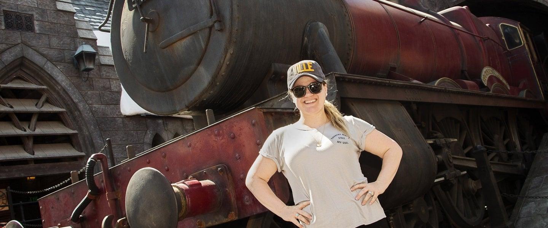 Kelly Clarkson at Wizarding World
