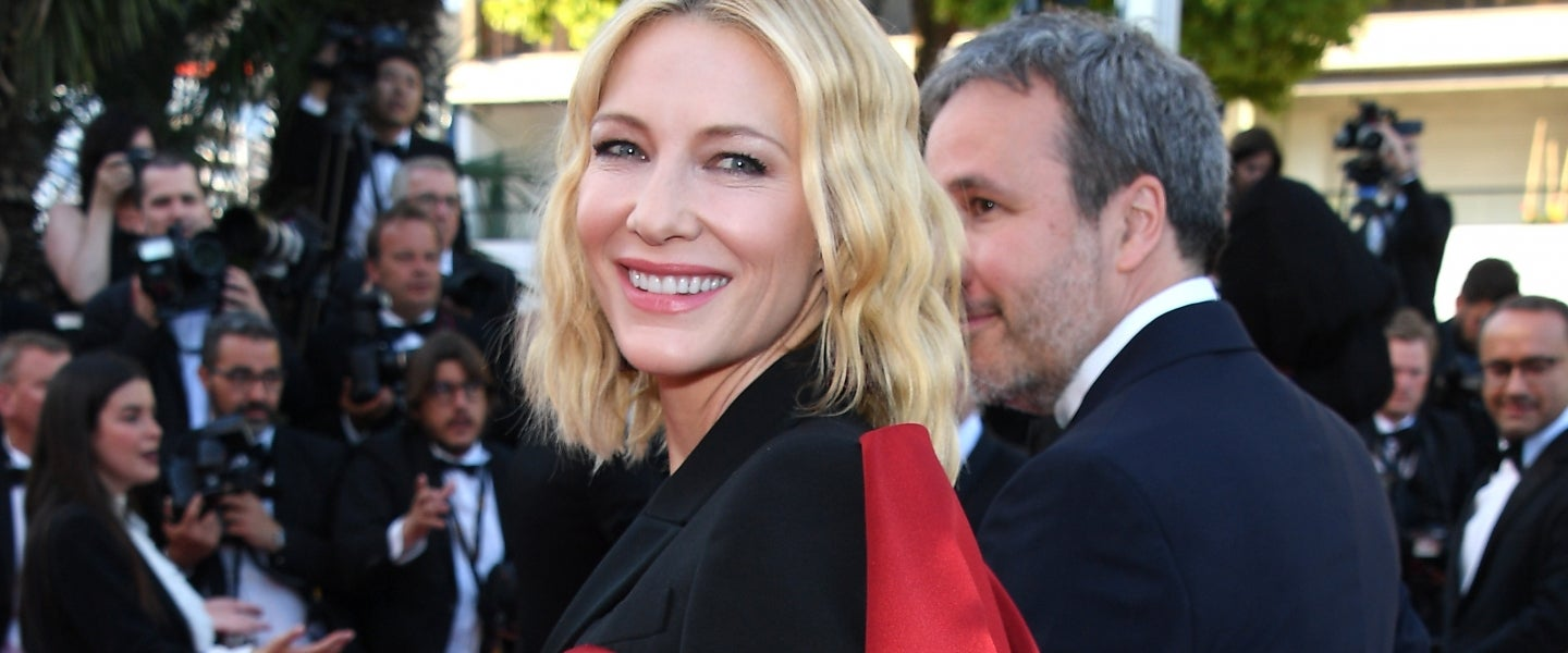 Cate Blanchett at cannes closing ceremony