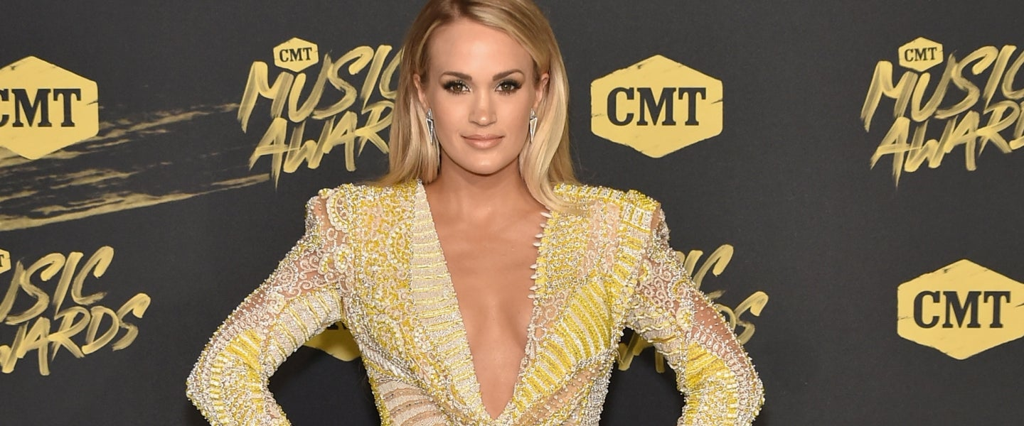 Carrie Underwood at 2018 CMT Music Awards
