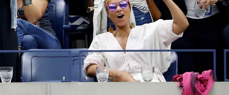 Alicia Keys at US open
