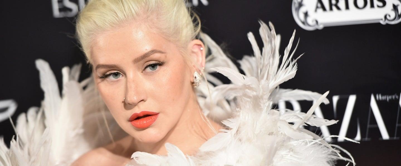 Christina Aguilera Harper's Bazaar ICONS party
