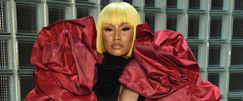 Nicki Minaj at Marc Jacobs show