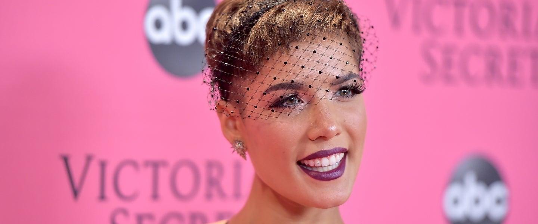 Halsey at VS Fashion Show - red carpet arrivals