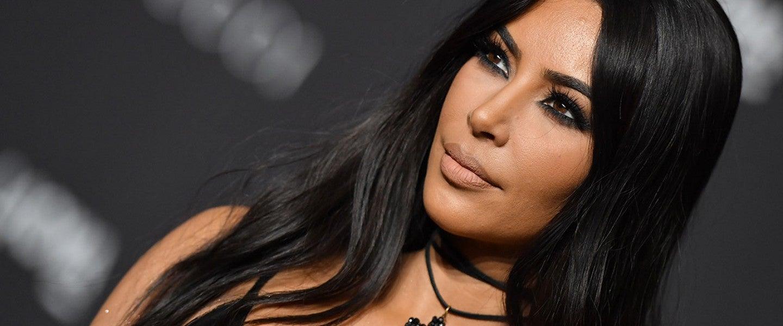 Kim Kardashian in 2018