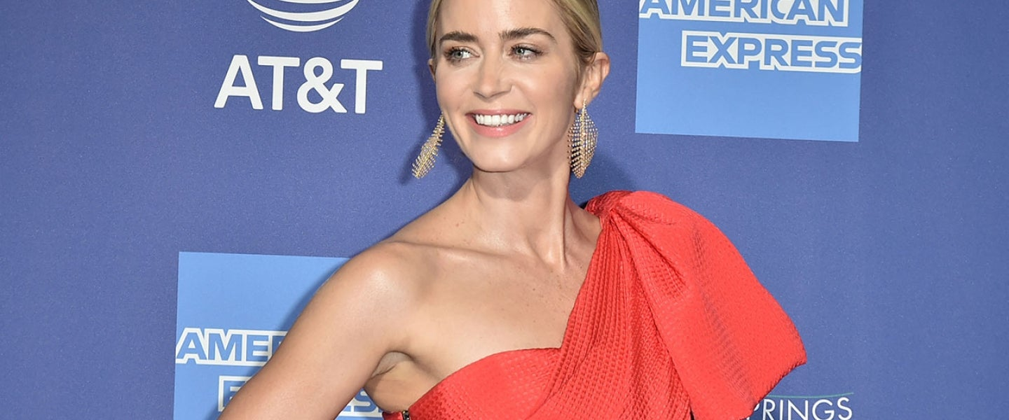 Emily Blunt at PSIFF gala