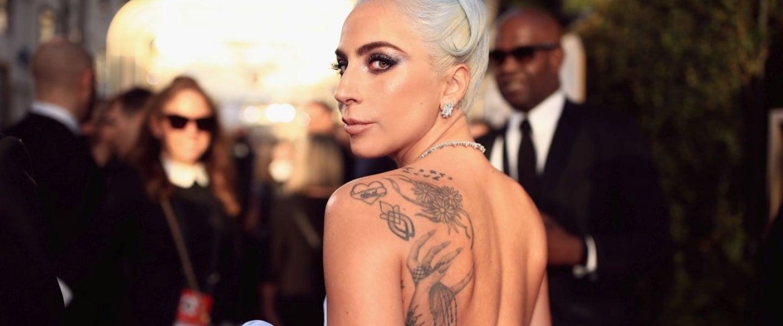 Lady Gaga at Golden Globes