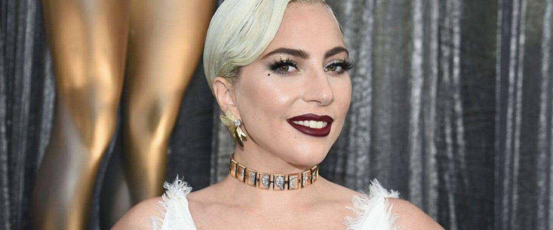 Lady Gaga at the SAG Awards
