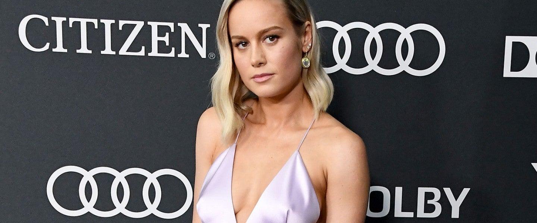 Brie Larson at endgame premiere