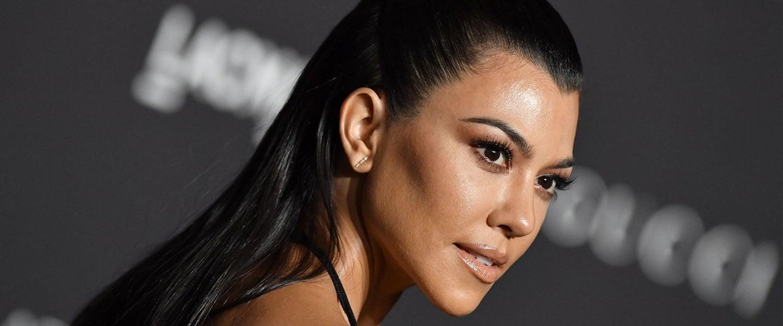 Kourtney Kardashian at 2018 LACMA art + film gala