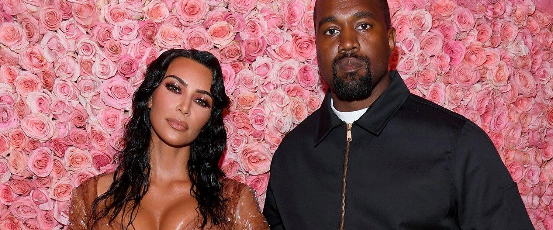 Kim Kardashian and Kanye West at 2019 met gala