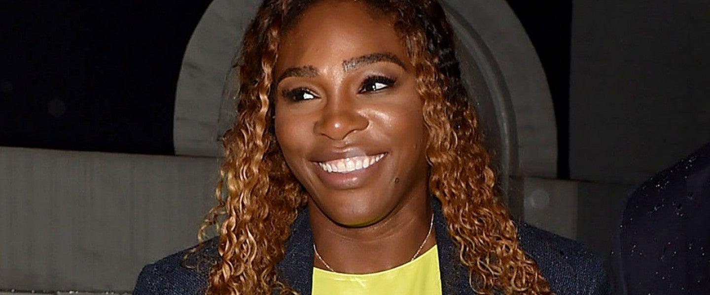 Serena Williams at pre-met gala party