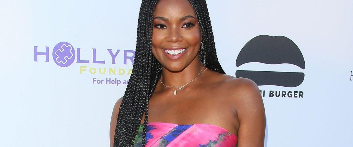 Gabrielle Union at the HollyRod Foundation's 21st Annual DesignCare Gala