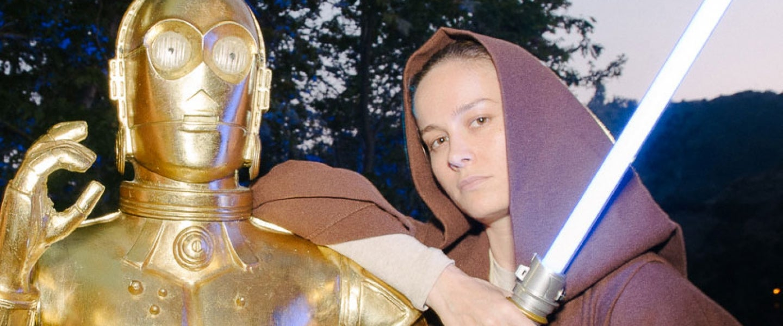 Brie Larson at star wars at cinsepia