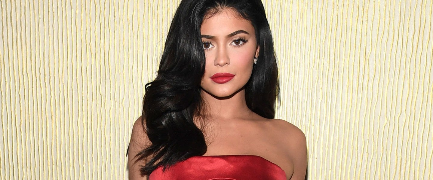 Kylie Jenner at pre-grammy gala in february 2019