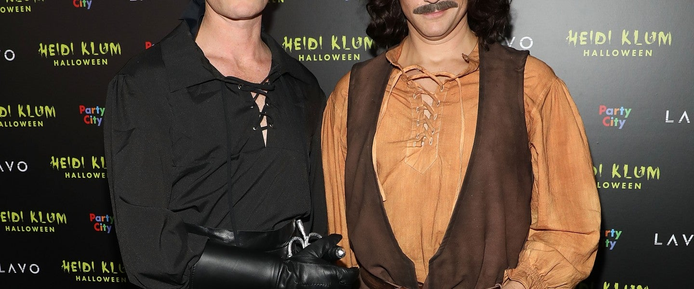 Neil Patrick Harris and David Burtka at Heidi Klum's 19th Annual Halloween Party